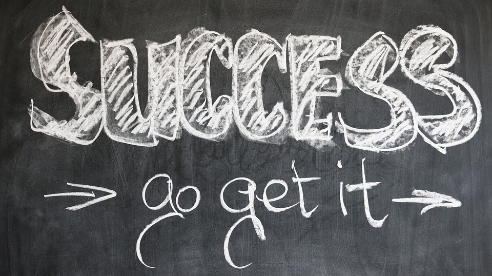 success written in blackboard